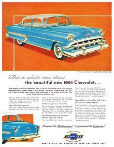 Chevrolet Bel Air, 1954