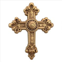 Baroque New World Cross Wall Sculpture - EU34501 - Design Toscano