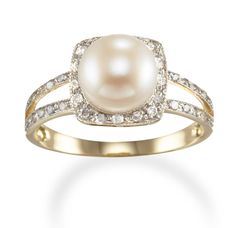 Is it weird I want a pearl for an engagement ring?