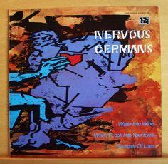 NERVOUS GERMANS Water into Wine Vinyl EP Promotion Copy + Plattenpass - Top RARE