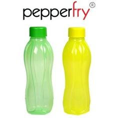 Tupperware Set of 2 water bottle 500 ml Yellow and Green at Rs.149 Free Shipping – Pepperfry