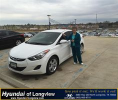 https://flic.kr/p/xyv8xD | #HappyBirthday Patricia from Kent Haws  at Hyundai of Longview! | www.deliverymaxx.com/DealerReviews.aspx?DealerCode=XDUT