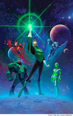 Green Lantern: The animated series by Bruce Timm and Josh Middleton
