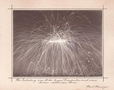 // Albert Obermayer Atomisation of a 10cm-long Iron Wire by a Strong Electric Current, 1893 or earlier