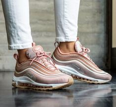 new product e5db4 60e5b Women s nike air max 97 ultra metallic rose gold trainer cheap uk, free  delivery on orders over two shoes.