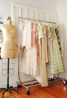 I would love to have a sewing room that looked like this, filled with all the things I've made.