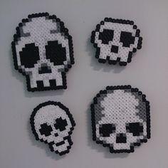 Fridge magnet set 6; skulls :-) #pixelart #beadart #beads #hama #hamamini #hamabeads #... | Use Instagram online! Websta is the Best Instagram Web Viewer!