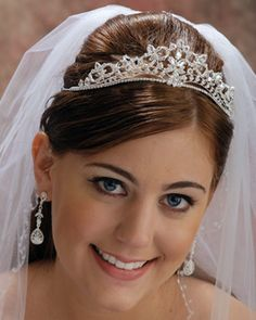 The Bridal Veil Company Tiaras - Style 7803