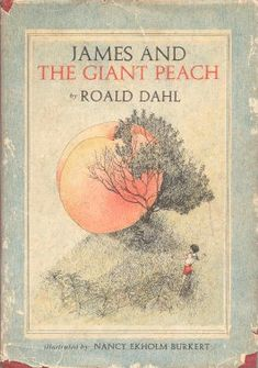vintage James and the Giant Peach by Roald Dahl Books For Boys, Childrens Books, James And Giant Peach, Good Books, Books To Read, Roman, Leo, Book Press, Vintage Children's Books