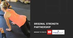 Strength Matters is excited to announce a brand new partnership agreement today with Original Strength to deliver high value education to all its members.