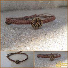 #bracelet #peace #hippie
