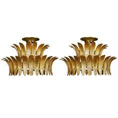 Beautiful Pair of Murano Glass Chandeliers living room (?)