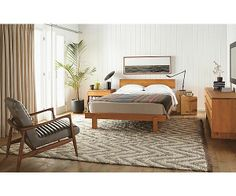Anders Bedroom II from Room & Board - Bed $999 - 1799; Dressers $1499 - $4899; Nightstand $599 - $899