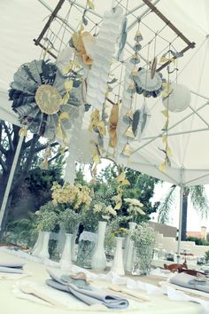 CAKE. | events + design: Grey + Yellow Vintage Bridal Shower