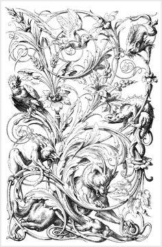 Орнамент в стиле Рококо - irisha1605