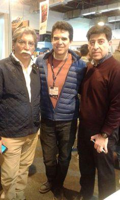 En la Fil Santa Cruz con Edmundo Paz Soldán y Gonzalo Lema