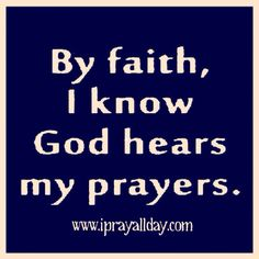 By faith Faith Prayer, My Prayer, Jesus Bible, Gods Not Dead, Believe In Miracles, Thank You God, Keep The Faith, Special Quotes, Prayer Quotes