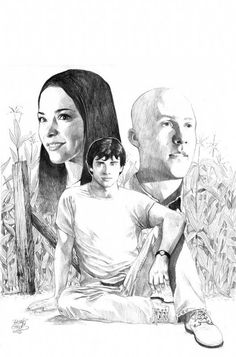 Smallville - Published Cover Comic Art