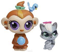 Littlest Pet Shop Набор фигурок Mushroom Lee и Snears Stymie #LittlestPetShop #PetShop