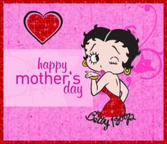 For more Mother's Day Betty Boop greetings, go to: http://bettybooppicturesarchive.blogspot.com/search/label/Mother%27s%20Day - Happy Mother's Day animated gif