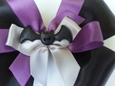 NEW Halloween Bat Hair Bow  Girls Hair Bow  by MissLottiesBoutique