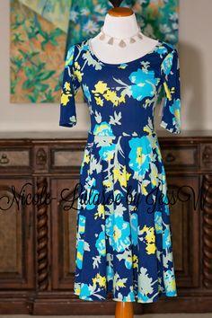 LuLaRoe Nicole Dress. https://www.lularoejess.com AVAILABLE FOR PURCHASE