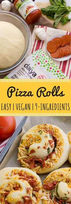 Imagine hot, crispy cinnamon rolls fresh out of the oven.. but instead of cinnamon-sugar it's pizza! These vegan pizza rolls are the epitome of a vegan party food. No plates, utensils, or cleanup afterwards because these babes are handheld! 9 ingredients plus some time and you'll have the best finger-food imaginable!