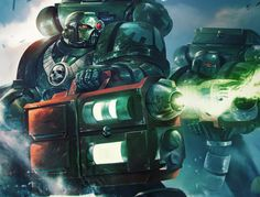 Today we are going to take a look at some the marines that are tasked with carrying the most deadly hand-held weaponry into battle. Read More The post Marines With The Big Guns: Devastator Squad LORE appeared first on Spikey Bits . Fantasy Heroes, Fantasy Fiction, Fantasy Art, Space Marine, Warhammer 40k Art, Warhammer Fantasy, Warhammer Armies, Warhammer Models, Dark Angels 40k