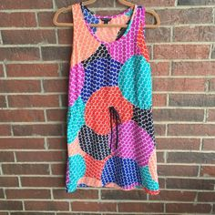 Banana republic summer tank dress size 8 Gorgeous dress for keeping it casual on those hot summer days!  Features drawstring waist. Size 8, excellent used condition! Banana Republic Dresses Mini