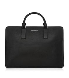 Shop Men's Heroic Briefcase from the official online store of iconic fashion designer Alexander McQueen. Briefcase For Men, Leather Briefcase, Leather Bag, Leather Laptop Case, Laptop Bag For Women, Computer Bags, Briefcases, Tote Handbags, Fashion Bags