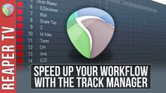 Speed up your workflow in #ReaperDAW with this weeks new video tutorial on the awesome Track Manager!   https://www.youtube.com/watch?v=kv4sekhhmlE&index=1&list=PLh1Qaso9T1U0B17AXNLlvmUFuF8lWX-o8