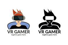 Vr Gamer Logo by tkent on @creativemarket