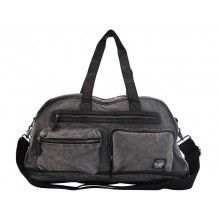 Palladium Enzyme Washed Canvas Overnighter Dark Grey Dark Grey, Gym Bag, Canvas, Bags, Tela, Handbags, Canvases, Bag, Totes