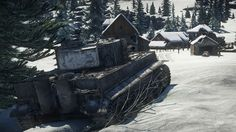 Lone Tiger H1 rolling through Frozen Pass