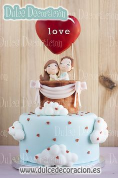Valentine Day cake.