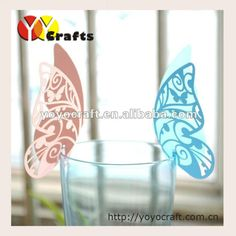 2015 Custom design paper lace butterfly wedding place card holders-in Event & Party Supplies from Home, Kitchen & Garden on Aliexpress.com | Alibaba Group