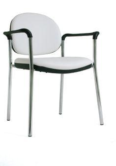 Click é uma linha de traços simples e pode ser usada como opção de cadeira interlocutora, em recepções e salas de espera. Chair, Furniture, Home Decor, Chairs, Line, Simple, Waiting Rooms, Stool, Interior Design