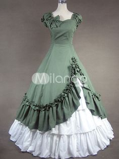 Victorian Costume Dresses, Capelets, Hoop Skirts, Blouses