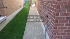 Exposed Aggregate, A Good Man, Concrete, Sidewalk, Guys, Nice, Boys, Pavement, Curb Appeal
