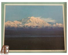 Scenic Print Mount McKinley National Park Alaska By Ansel Adams Denali Color Photograph