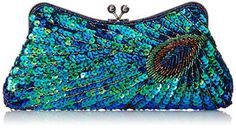 MG Collection Laurel Beaded Sequined Peacock Purse, Green, One Size MG Collection http://smile.amazon.com/dp/B00H20WU9K/ref=cm_sw_r_pi_dp_5xnDwb1EB02H2