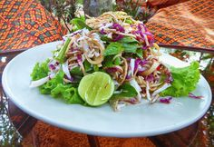 Banana flower salad at one of my favourite lunch spots in Siem Reap.  #peacecafe #bananaflower #salad #cambodia #food #streetfood  #yummy #delicious #eat #streetfood #foodadventures #tastetravel #tastetravelfoodadventuretours #sunshinecoast #australia #holiday #vacation #instafood #instagood #followme #localsknow #cookingclass #foodie #foodietour #foodietravel #angkorwat #sightseeing