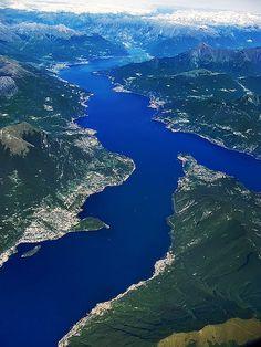 Lago di Como, Italy / Quel ramo del Lago di Como che volge ad occidente... :-)