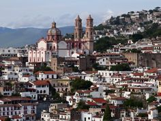 Beautiful Taxco Mexico - silver capital.