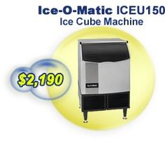 CEU150-Self-Contained Cube Ice Machine offering the best quality features.  It allows the users to make ice Built-in antimicrobial protection.