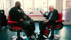 Bernie Sanders had a barbershop chat with Killer Mike · Great Job, Internet! · The A.V. Club