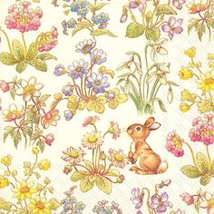 IHR Snoopy Little Rabbit Easter Bunny Printed 3-Ply Paper Luncheon Napkins Wholesale L729200