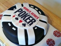 World series poker cake 50th Birthday Party Ideas For Men, 12th Birthday, Birthday Cake, Beautiful Cakes, Amazing Cakes, Vegas Cake, Poker Cake, Different Cakes, Cake Boss
