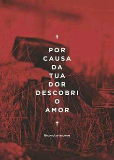 Because of your pain I discovered love Jesus Lives, Jesus Loves Me, Jesus Christ, Jesus Wallpaper, Frases Humor, King Of My Heart, Little Bit, Jesus Freak, God Is Good