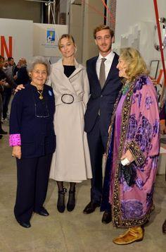 Beatrice Borromeo with granny Marta Morzotto